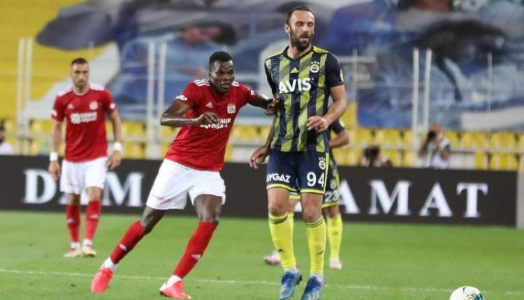 Isaac Cofie cameo in Sivasspor's 1-1 draw against Fenerbahce