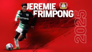 """Bayer 04's move represents great opportunity to play in one of the best leagues in Europe"" - Ghanaian defender Jeremie Frimpong"