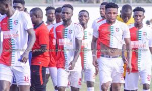 20/21 Ghana Premier League: Diawisie Taylor scores 9th goal of the season as Karela Utd defeat Medeama 2-0