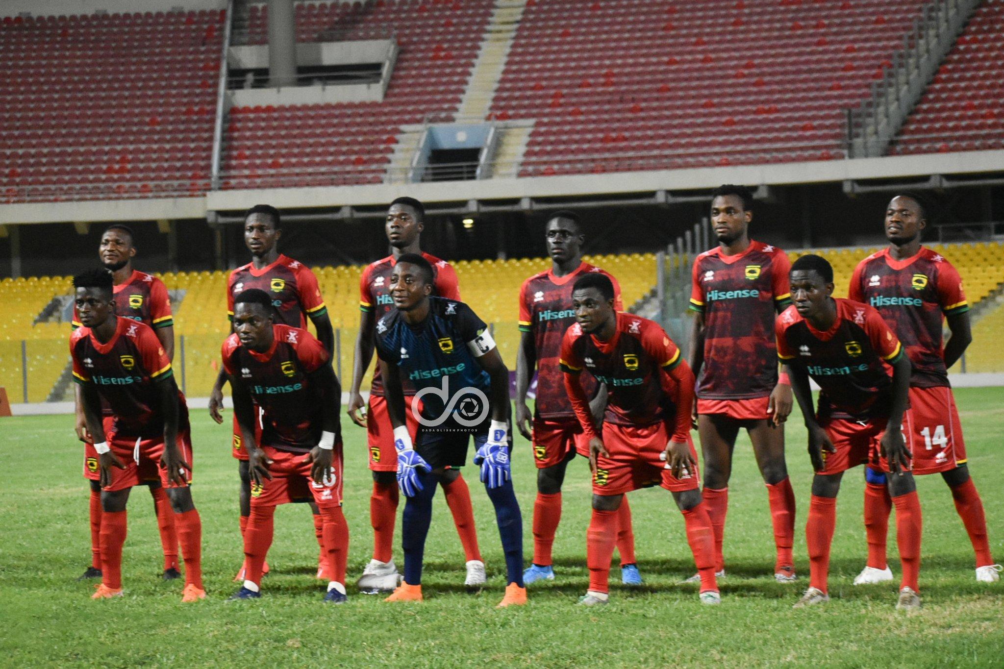 Kotoko coach Johnson Smith names starting lineup for tough Aduana Stars clash
