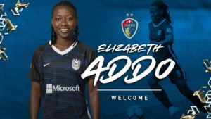 NC Courage coach Paul Riley speaks highly of new signing Elizabeth Addo