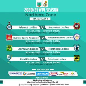 Women's Premier League: Match day one preview - Northen Zone