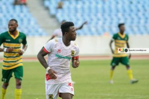 2021 Ghana Premier League: Kotoko defender Asmah hope's to contribute more in attack after assist against Ebusua Dwarfs
