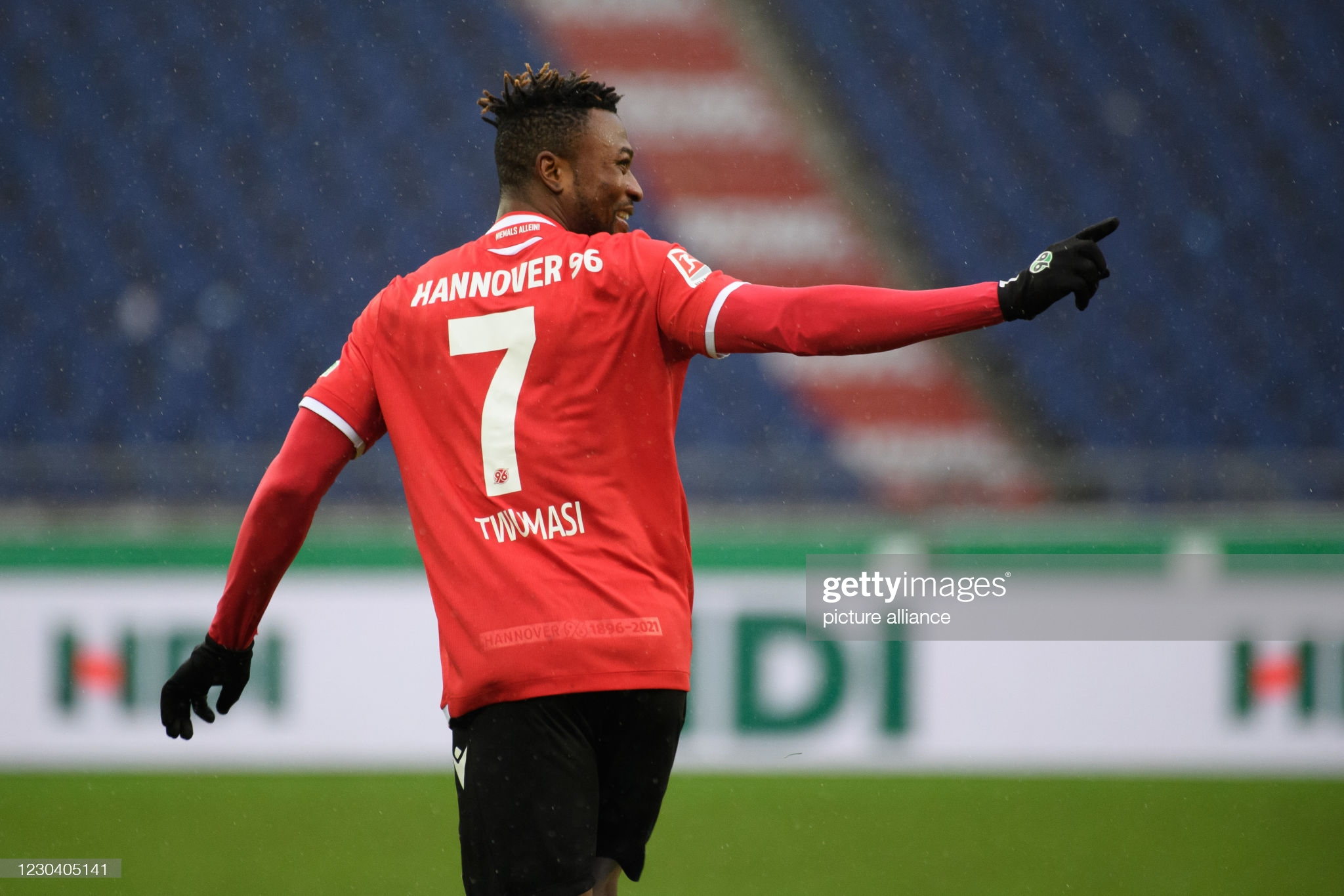 Ghana attacker Patrick Twumasi scores to seal big win for Hannover 96 against Nurnberg