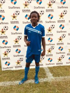 Defender Philip Sackey named MoTM after displaying top form to help Olympics defeat Inter Allies