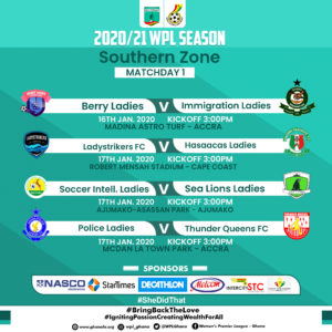 Women's Premier League: Match day one preview - Southern Zone
