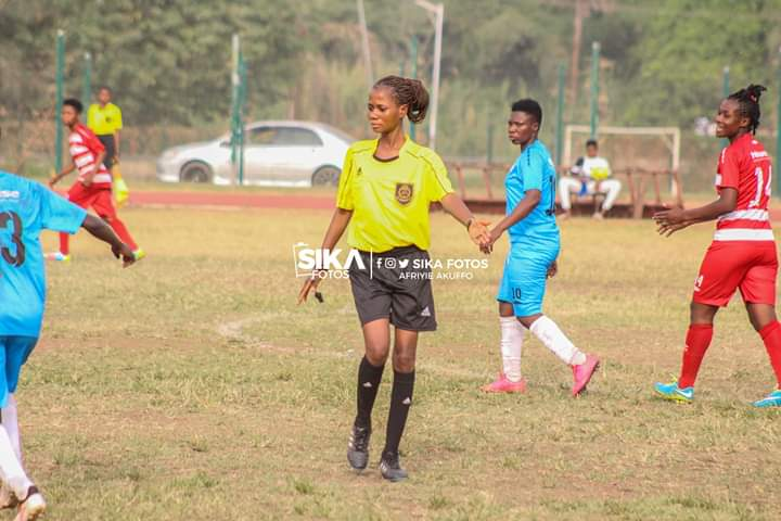 FEATURE: The Dagomba girl daring for FIFA refereeing badge