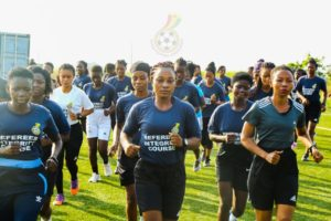 Women's Premier League: Seventy-three referees and assistant referees train ahead of new season