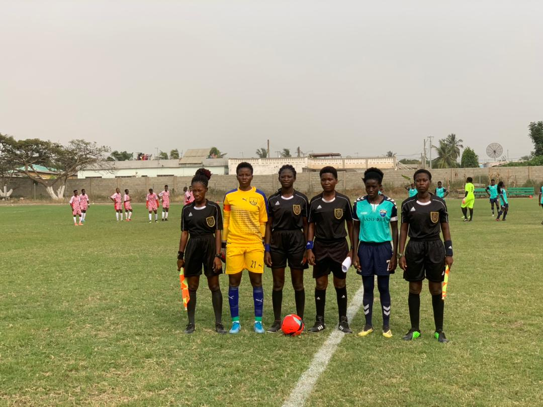 Ghana Women's Premier League: Match officials for week three announced