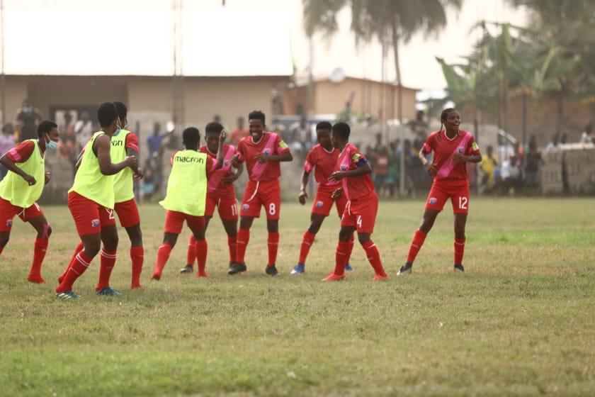 Ghana Women's Premier League: Soccer Intellectuals bow to Berry Ladies at home