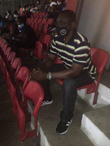 Black Stars deputy coach David Duncan watches Kotoko defeat to Aduana Stars