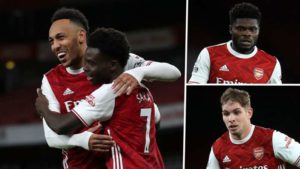 FEATURE: Mesut who? Partey and Smith Rowe leading new-look Arsenal's creative revolution