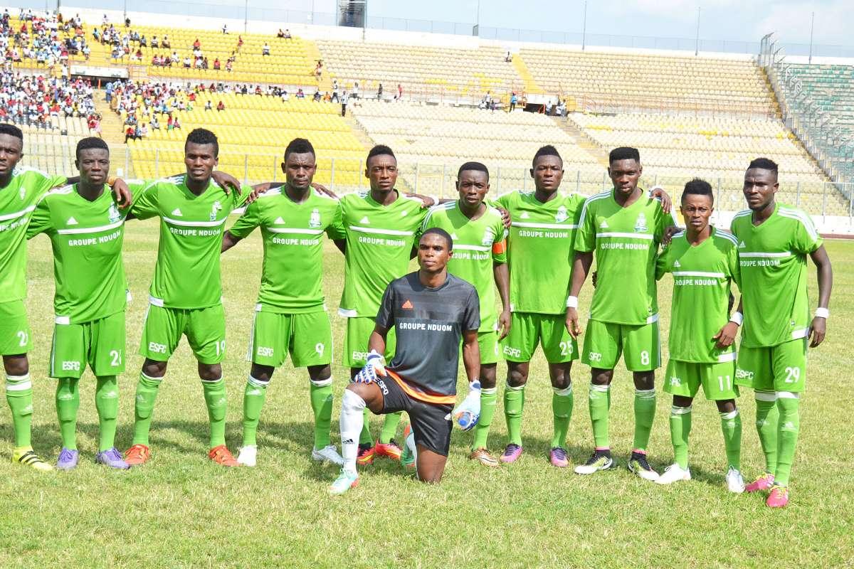 Elmina Sharks coach Yaw Acheampong names attacking starting eleven to face Bechem United
