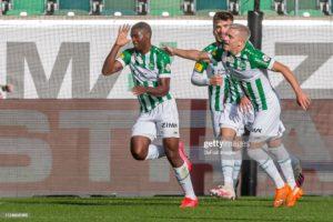 Ghanaian striker Kwadwo Duah scores for FC St. Gallen in 2-0 win against FC Vaduz