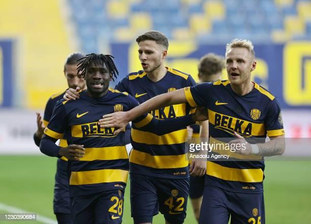 Joseph Paintsil impress for MKE Ankaragucu in narrow win against Kasimpasa