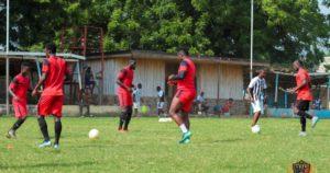 Asamoah Gyan returns to Legon Cities training ahead WAFA game