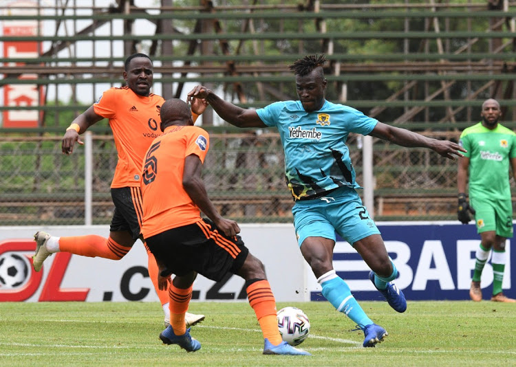 Black Leopards midfielder Edwin Gyimah dedicates win against Pirates to grieving club chairman
