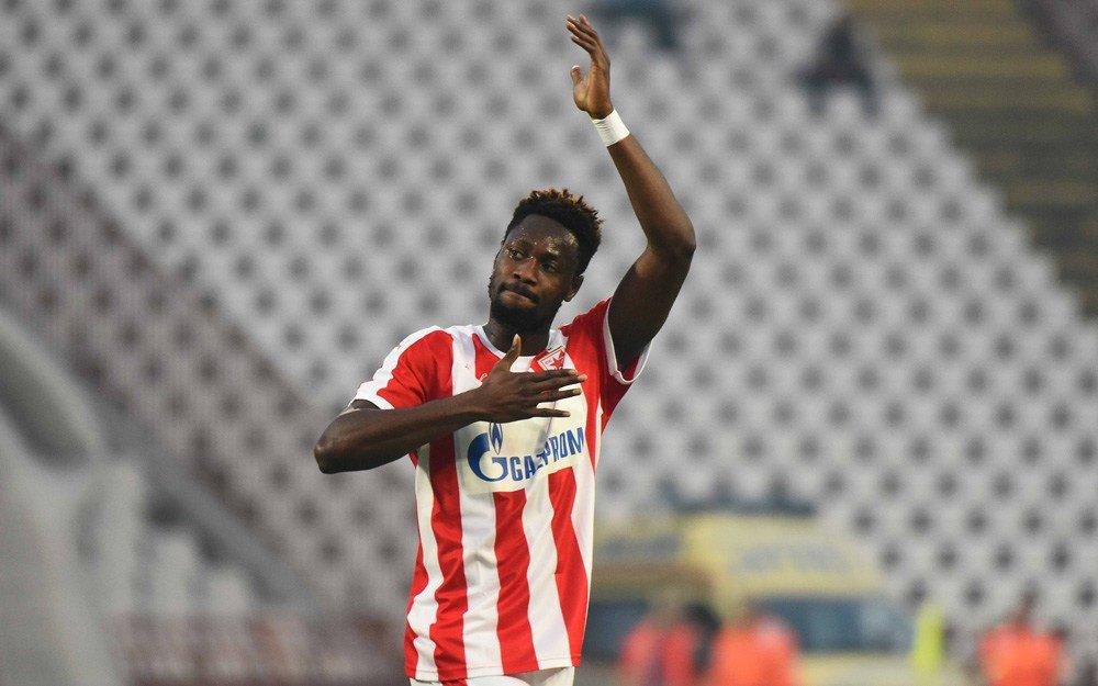 Richmond Boakye Yiadom announces departure from Red Star Belgrade with appreciation message