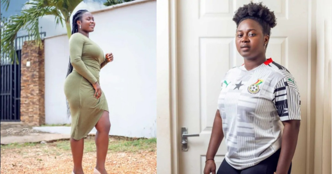 Black Queens striker Gifty Ayew Asare sets social media ablaze with stunning photos