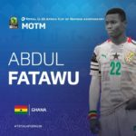 U-20 AFCON: Fatawu Issahaku's 'worldie' makes top 10 goals of the tournament