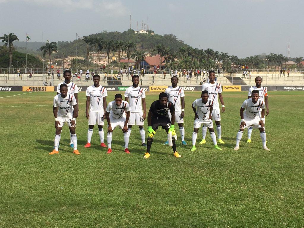2021 Ghana Premier League: AshantiGold v Liberty Professionals- Obuasi-born Karikari ends Miners unbeaten home record