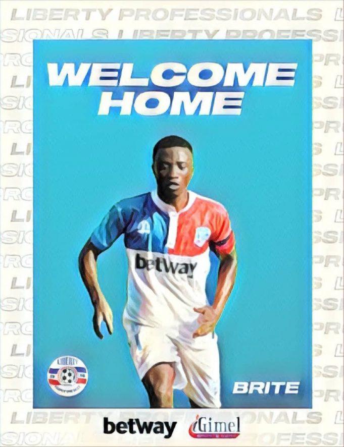 Midfielder Bright Andoh rejoins Liberty Professionals