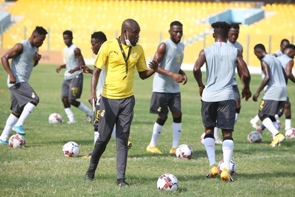 PICTURES: Home-based players step up training in Black Stars camp
