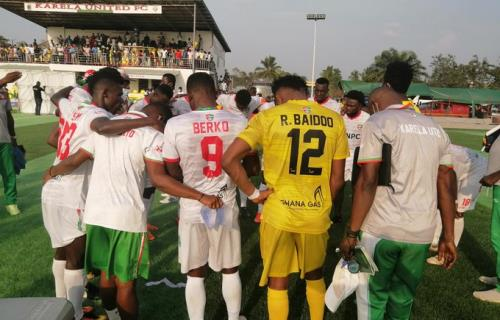 20/21 Ghana Premier League matchday 15: Karela beat Liberty 2-0 to stay top of league table