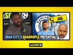 """CITY CAN WIN THE QUADRUPLE!"" Darren Bent tips Man City to win EVERYTHING this season!"
