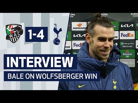 INTERVIEW   GARETH BALE ON GOAL AND WOLFSBERGER WIN
