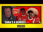 """SAKA'S A GENIUS!"" Ray Parlour and Trevor Sinclair are LOVING Arsenal's Bukayo Saka right now!"