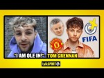 """I AM OLE IN!"" Tom Grennan on his love for Man United, Solskjaer & failing to beat Man City on FIFA"