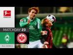 Josh Sargent Ends Frankfurt's Streak | SV Werder Bremen - Eintracht Frankfurt | 2-1 | All Goals