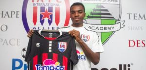 Inter Allies FC sign Nigerian winger Kingsley Fidelis Kuku to bolster squad