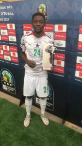 U-20 AFCON: We are determined to win the competition - Black Satellites midfielder Frank Boateng