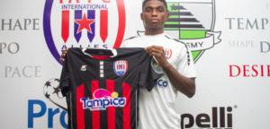 OFFICIAL: Struggling Inter Allies sign Nigerian striker Sunday Henry Kalu to bolster squad