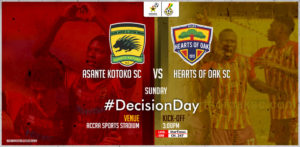 GFA outlines modalities for outstanding league match between Asante Kotoko and Hearts of Oak