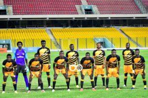 Ashgold coach Thomas Duah names starting eleven to face Aduana Stars
