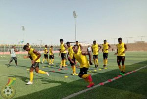 U-20 AFCON: Black Satellites resume training ahead of Gambia tie