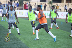 Black Stars to play Legon Cities in a friendly today