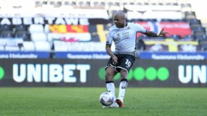 Andre Ayew scores in Swansea City defeat to against Bristol City