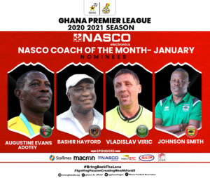 Bahir Hayord, Johnson Smith, two others in race for NASCO Coach of the Month Award for January