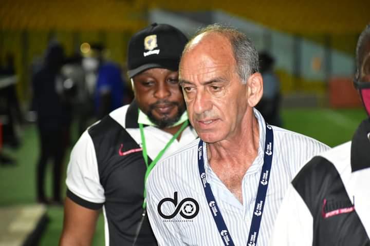 I wish Ashantigold SC all the best, says coach Milovan Cirkovic as he leaves club