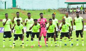 Lethal strikers Joseph Esso, Agyenim Boateng start for Dreams FC against Ashgold SC