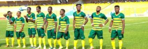 Dwarfs head coach Ernest Thompson names strong starting eleven to face Ashgold SC