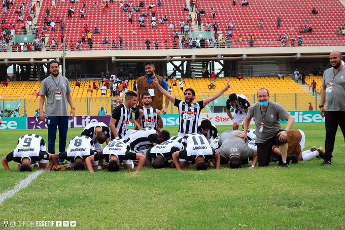 CAF Confederation Cup: ES Setif coach Nabil Kouki praises players after beating Asante Kotoko