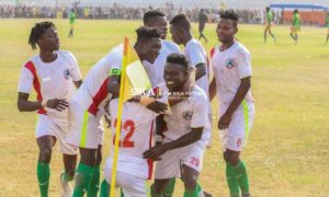20/21 Ghana Premier League matchday 15: Tetteh Nortey's solo strike gives Eleven Wonders victory against Olympics