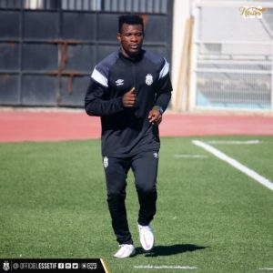 I hope to play for Asante Kotoko, says ES Setif new signing Daniel Lomotey