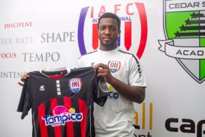 Forward Kwabena Kyeremateng returns to Inter Allies after loan stint in Denmark