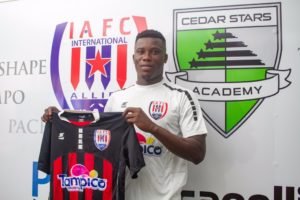 Attacker Samuel Armah returns to Inter Allies FC after ending loan spell in Albania